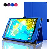 ACdream BQ Edison 3 mini 8 inch Protective Case, Folio Premium PU Leather Cover Case for Bq Edison 3 mini 8 inch tablet, Royal Blue