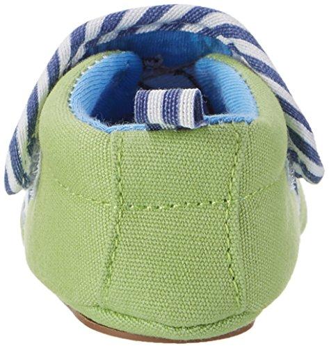 Sterntaler Baby Jungen Krabbelschuh Grün (Sommergrün)