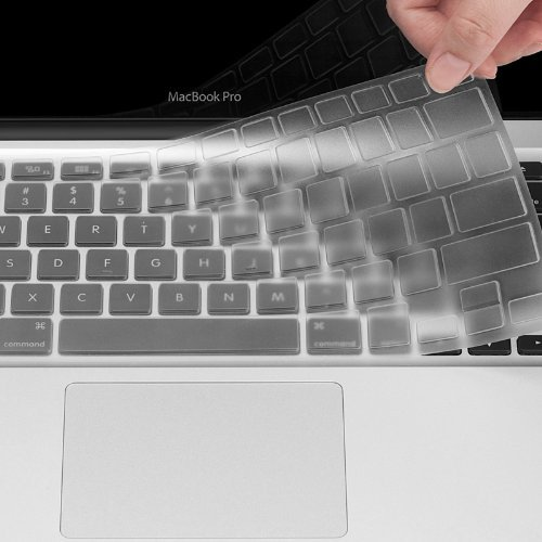 "Colel Premium Ultra Dünn Transparent Tastatur Schutzfolie Cover Haut für MacBook Pro 13"" 15"" 17"" (with or w/out Retina Display) iMac"