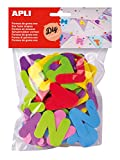 Apli 218102 - Eva Foam Letters - Bag of 104 units