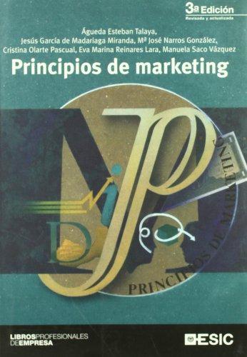 Portada del libro Principios de marketing (Libros profesionales)