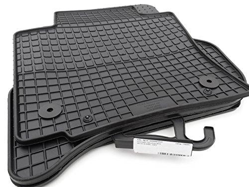 Preisvergleich Produktbild Gummi Fußmatten Seat Leon 1P / FR / Cupra (4.teilig) Original Qualität, schwarz