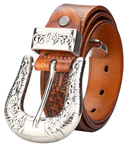 qishi-yuhua-pd-mens-carved-belt-light-tan-luxury-quality-leather-belt