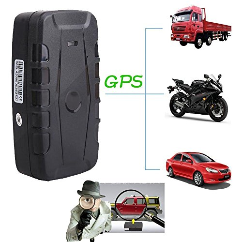 GPS Tracker, TKSTAR Auto Fahrzeug GPS Tracking mit Google Map Echtzeit-Tracking, 10000mAh 120 Tage lange Standby für kostenlose App Web & SMS-Tracking TK907B