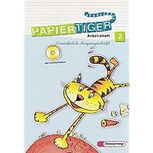 Papiertiger. Sprachlesebuch: PAPIERTIGER - Ausgabe 2006: Arbeitsheft 2 VA mit Lernsoftware (PAPIERTIGER 2 - 4, Band 6)