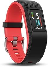 Garmin vívosport GPS-Fitness-Tracker, 24/7 Herzfrequenzmessung am Handgelenk, integriertes GPS, vorinstallierte Lauf-App, hochauflösendes Farb-Touchdisplay, 010-01789-01