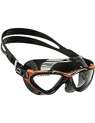 Cressi Planet - Gafas de natación unisex, color negro / rojo