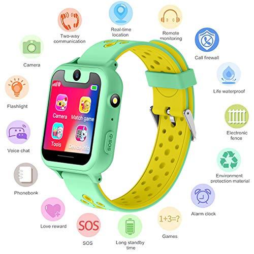 S6 Niños Smartwatch - Reloj de Pulsera Inteligente con ubicación GPS/LBS Reloj...