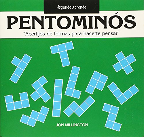 Pentominos/ Pentaminoes: Acertijos de formas para hacerte pensar/ Puzzle Pieces to Make You Think par JON MILLINGTON