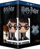 Harry Potter - l'Intégrale des 8 Films + La Figurine Pop (Funko) de Harry Potter - Le monde des Sorciers de J.K. Rowling - Coffret Blu-Ray [+ figurine Pop! (Funko)]