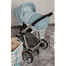 Babyline Carrusel - Saco porta bebé, unisex, color verde