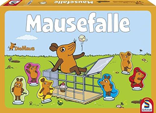 Die Maus, Mausefalle, Kinderspiel, bunt ()