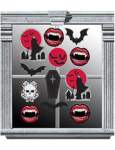 Amscan International Window Decoration Vinyl Vampire