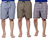 #1: SSB Pure Cotton Multicolor Casual Solid Boxers For Men's Pack of 3