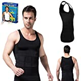 #3: Fusine™ Slim N Lift Slimming Tummy Tucker Body Shaper Vest for Men