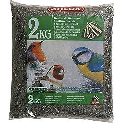 ZOLUX Girasol alimento para las aves de jardín Kg. 2