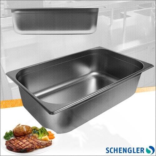 Schengler 1/1 GN-Behälter + Deckel Edelstahl 65 mm tief
