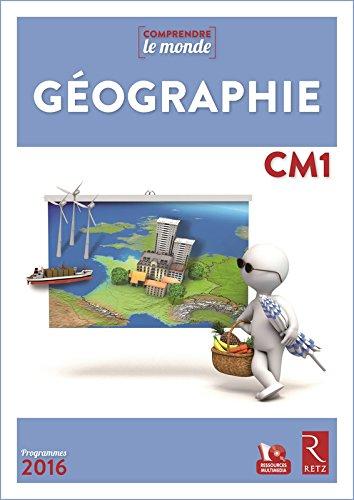 Géographie CM1 (+DVD) - Nouveau programme 2016 par Jacques Arnaud