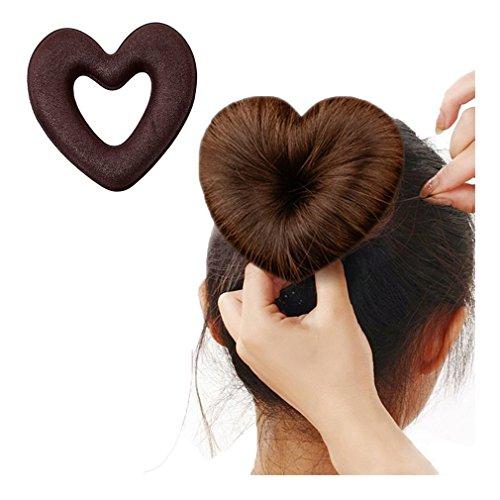Lalang Heart Hair Bun Maker Magi...