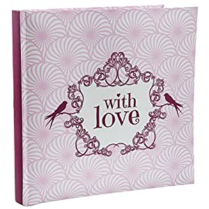 Santex 4748-05 Vintage Livre d'Or Rose 24 x 24 x 2,3 cm