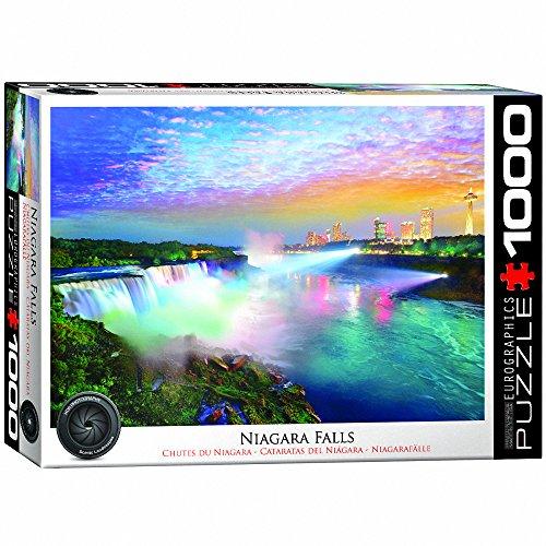 Cascate del EUROGRAPHICS Niagara 1000 Piece Jigsaw Puzzle
