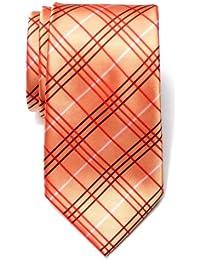 22c76845fcd6 Retreez Tartan Plaid Check Styles Woven Microfiber Men's Tie Necktie - 10  Colors
