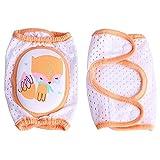 Newin Star Una Coppia di Bambini Morbidi al Ginocchio Pad Antiscivolo Cuscino Gomito gattile Ginocchio Pad Bambino Neonato Sicurezza Bambino Fox (23 * 16.5 cm)