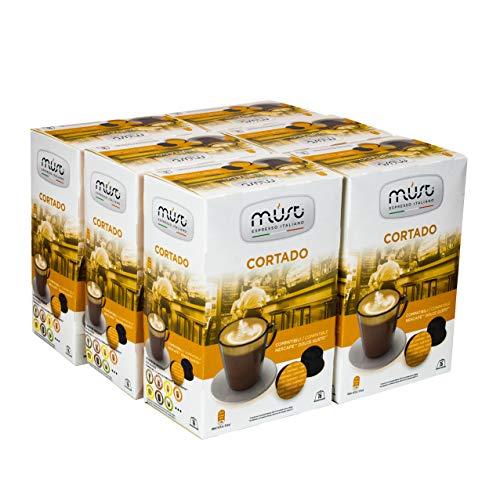 Must Espresso Italiano 96 Capsule Compatibili Dolce Gusto Cortado - 6 confezioni da 16 capsule