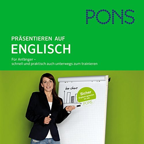 PONS mobil Sprachtraining. Aufbau Präsentieren auf Englisch