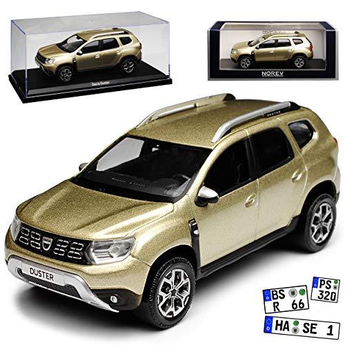 Norev Dacia Duster II Dune Beige Metallic SUV 2. Generation Ab 2018 1/43 Modell Auto (Auto Duster Modell)