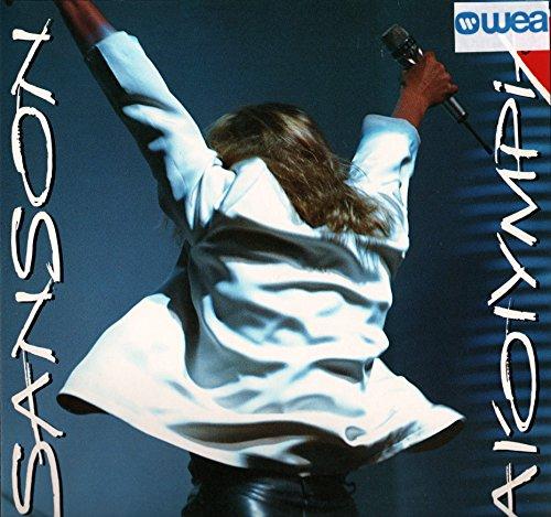 """Véronique Sanson – à l'Olympia 89 (Vinyle, album 33 tours 12"""") WEA / Warner 246107, 1989 – Bernard's Song – Caméléon – L'Amour est Différent – Marie – Alia Souza – Un peu d'air pur et Hop – Mortelles Pensées – Je les Hais – Radio Vipère – Le Maudit – Jet Set – Le Désir – Doux dehors, Fou dedans – Saint Lazare – Paranoia – On m'attend là-bas – Full Tilt Frog"""