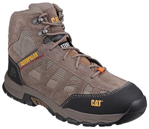 CAT Workwear Mens Structure Mid Slip Resistant Suede Safety Boots