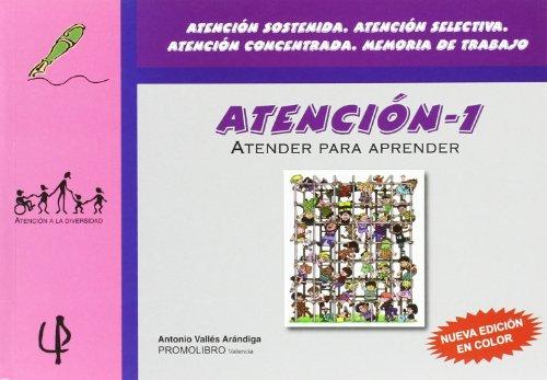 Atencion 1 - atender para aprender (Atencion A La Diversidad)