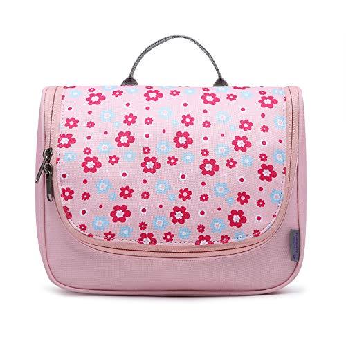 Mountaintop Kulturbeutel Kosmetiktasche Kulturtasche zum Aufhängen Toiletry Bag Waschtasche für Reise Urlaub, 24 x 9 x 19 cm (B - Pale Pink (L))