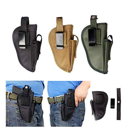 Gexgune Gun Tactical Magazin Tasche Pistole Gürtel Clip Links rechts austauschbare Pistole Glock Hand Gun Holsters (3 Farbe optional) -