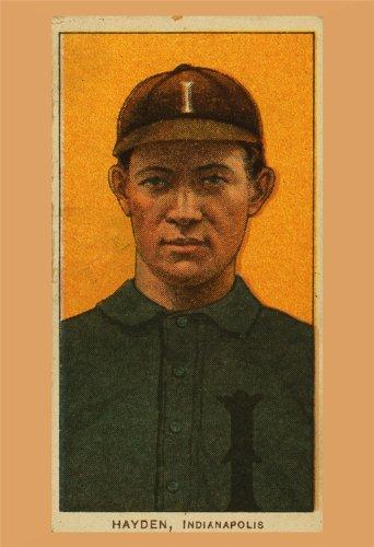 Baseball poster di carta vintage di Jack
