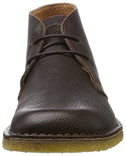 Pretty Green Herren Mens Leather Desert Boot Braun
