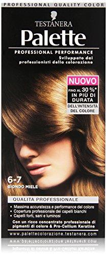 Testanera - Palette Biondo Miele 6.7, Qualita' Professionale