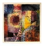 Paul Klee Poster Kunstdruck Bild 46x42cm