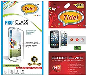 Tidel 2.5D Curved Tempered Glass Screen Guard Protector For Samsung Galaxy J5 (New 2016 Edition) With Tidel Ultra Clear HD Screen Guard