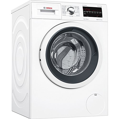 Bosch Serie 6 WAT24469ES Independiente Carga frontal 8kg 1200RPM A+++-30% Blanco - Lavadora (Independiente, Carga frontal, Blanco, Izquierda, LED, Acero inoxidable)