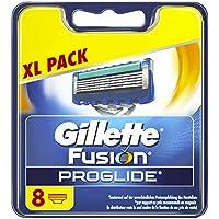 Gillette Fusion Proglide Lamette di Ricambio per Rasoio, 8Pezzi