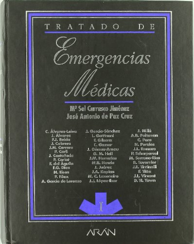 Tratado De Emergencias Medicas (2 Vols.) por Maria Sol Carrasco Jimenez