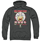 One Punch Man Man - - Männer Trainingsregiment Pullover Hoodie, X-Large, Charcoal