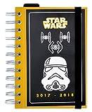 Grupo Erik Editores - Agenda scolastica 2017/2018, motivo Star Wars Trooper, in lingua francese