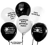 Brutal Birthday Balloons - Funny/Rude/Abusive Balloons!