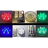 HLS 1 x 9 LED RGB ferngesteuerte Unterwasserbeleuchtung Floralyte LED Licht