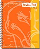 Dodo Pad Original Desk Diary 2020 - Week to View Calendar Year Diary: A Family Diary-Doodle-Memo-Message-Engagement-Organiser-Calendar-Book with room for up to 5 people's appointments/activities