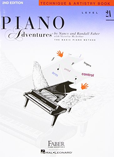 Piano Adventures, Level 2A, Technique & Artistry Book