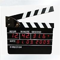 ZHGI verbindlich Filmklappe Bell, Direktor Vorstand, minimalistischen elektronischen LED-Wecker, Uhr, Kalender preisvergleich bei billige-tabletten.eu